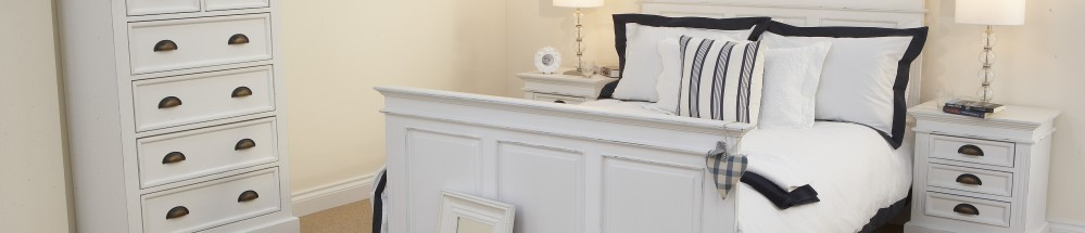 White Painted Bedroom
